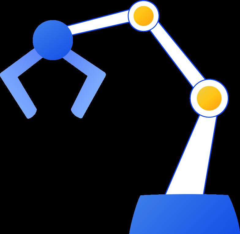 robot arm Clipart-Grafik als PNG, SVG
