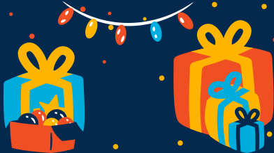 style Gifts await unpacking images in PNG and SVG | Icons8 Illustrations