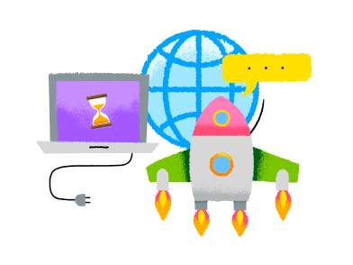 style Start up launch images in PNG and SVG | Icons8 Illustrations