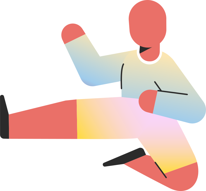 style child jump kick Vector images in PNG and SVG | Icons8 Illustrations