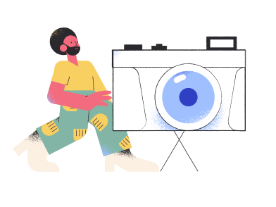 style Cameraman images in PNG and SVG | Icons8 Illustrations