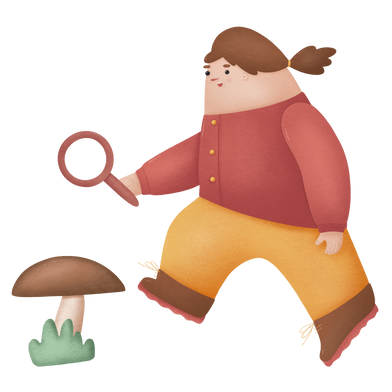 style Big mushroom images in PNG and SVG | Icons8 Illustrations
