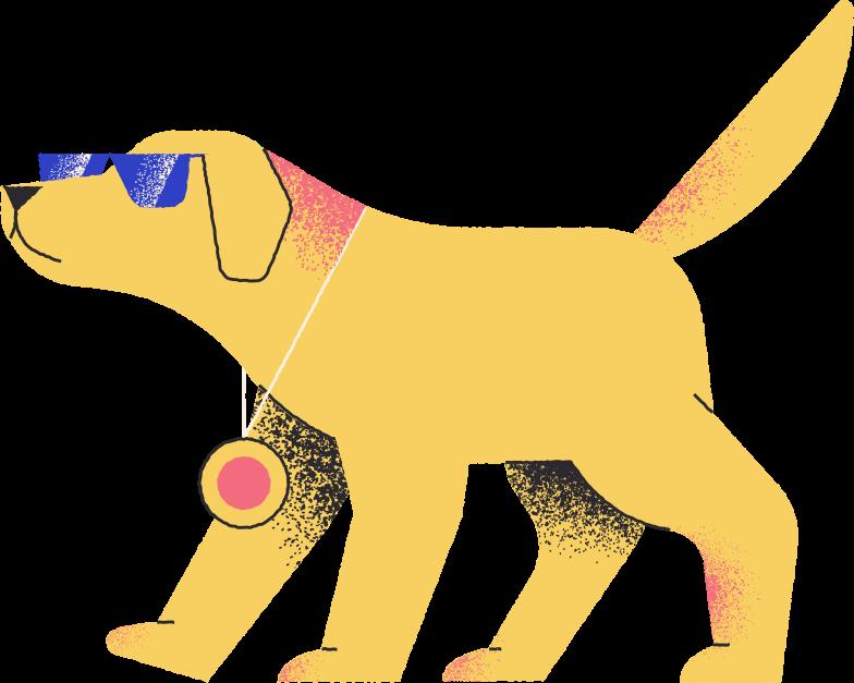 cool dog Clipart illustration in PNG, SVG