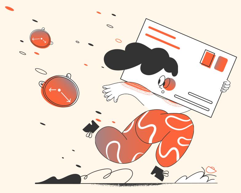 Brief ist zu spät Clipart-Grafik als PNG, SVG