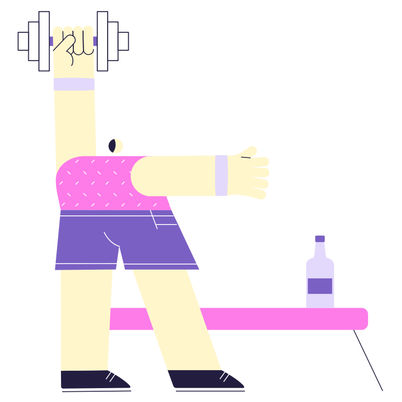 Physical activity Clipart illustration in PNG, SVG