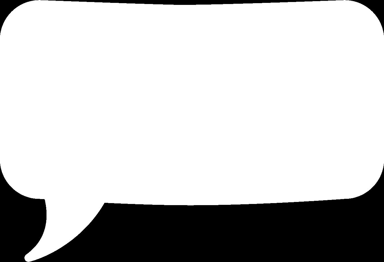 speech bubble l Clipart illustration in PNG, SVG