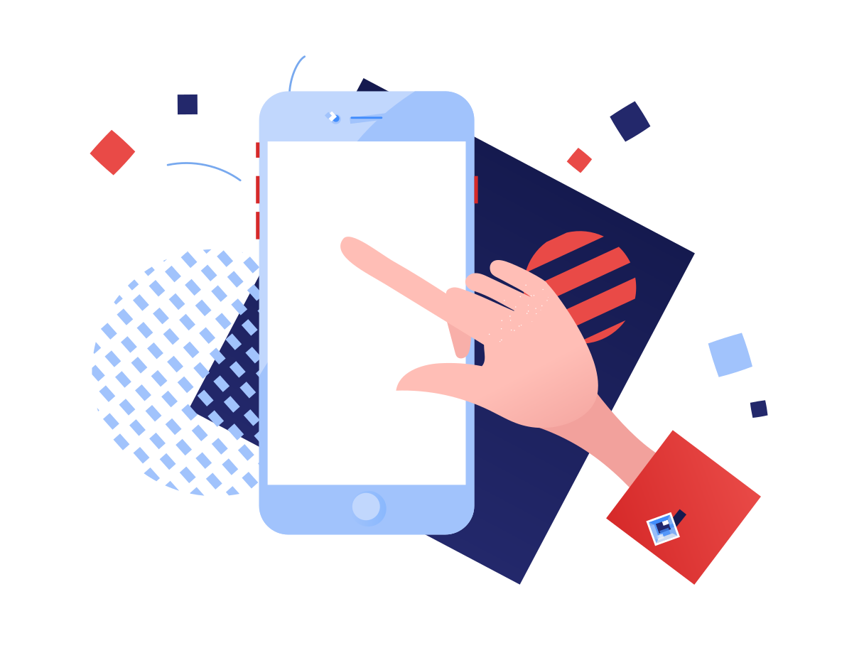 style Using the smartphone Vector images in PNG and SVG | Icons8 Illustrations