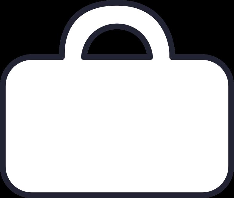 brief case Clipart illustration in PNG, SVG