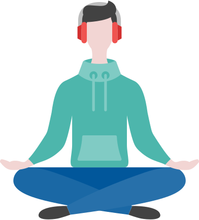 style meditating man images in PNG and SVG | Icons8 Illustrations