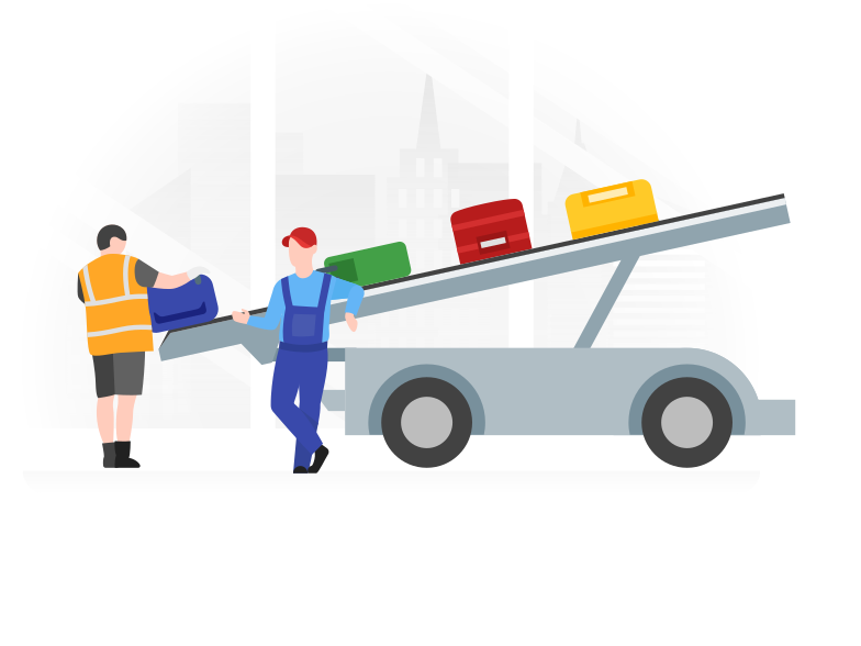 style Airport workers Vector images in PNG and SVG | Icons8 Illustrations