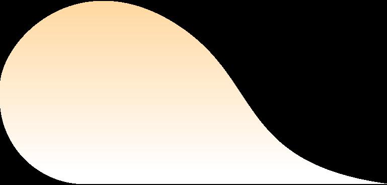 Wolke orange Clipart-Grafik als PNG, SVG