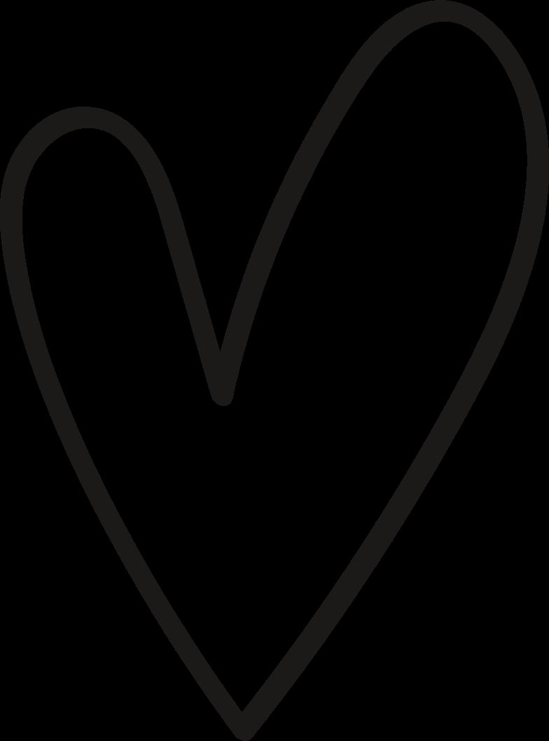 tk black heart Clipart illustration in PNG, SVG