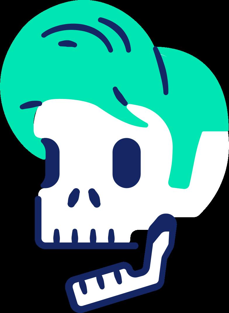 skull boy Clipart illustration in PNG, SVG