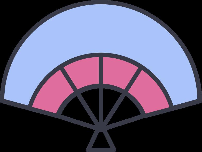fan Clipart illustration in PNG, SVG