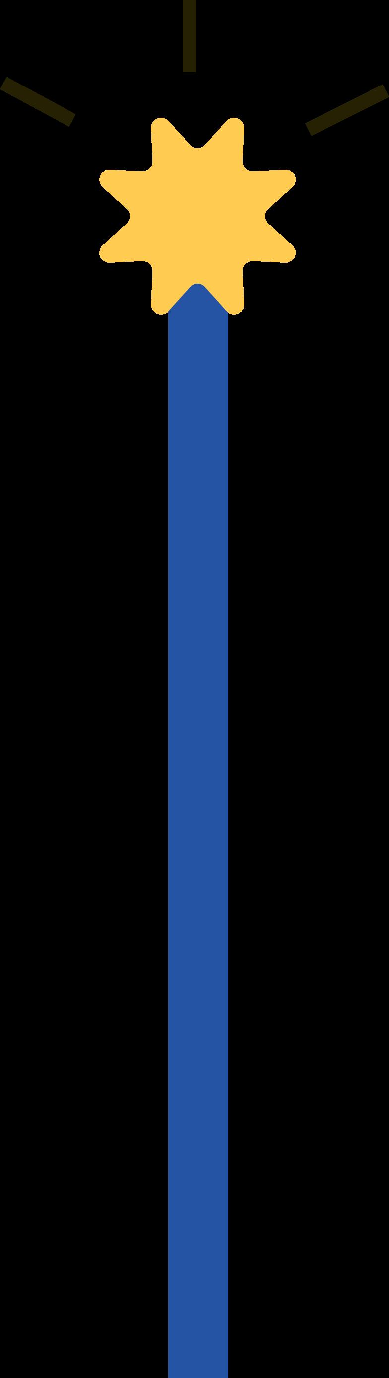 Клипарт Волшебный посох в PNG и SVG