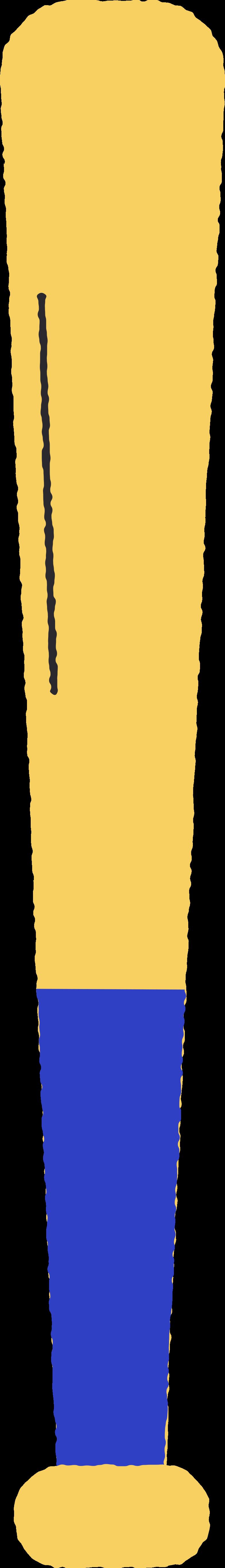 Ilustración de clipart de bate de béisbol en PNG, SVG