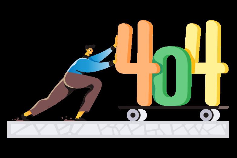 Error 404 Clipart illustration in PNG, SVG