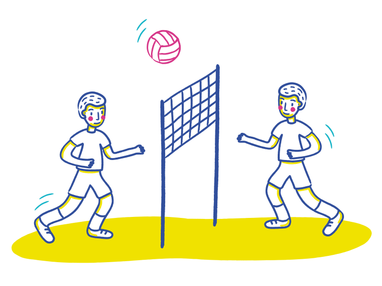 style Volleyball Vector images in PNG and SVG | Icons8 Illustrations