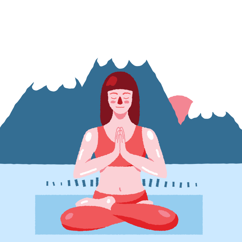 style Outdoor yoga Vector images in PNG and SVG | Icons8 Illustrations