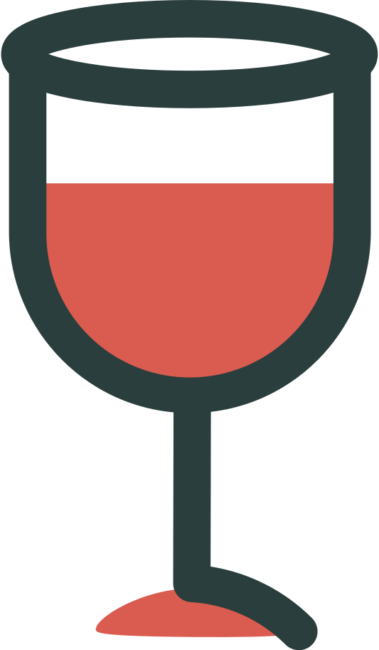 glass of wine Clipart illustration in PNG, SVG