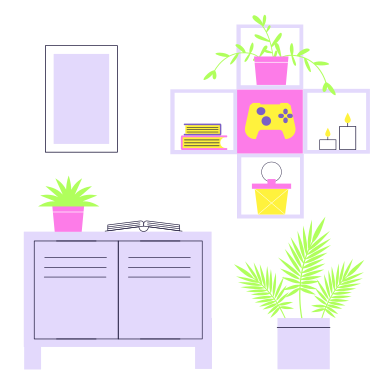 style Interior of the room images in PNG and SVG | Icons8 Illustrations