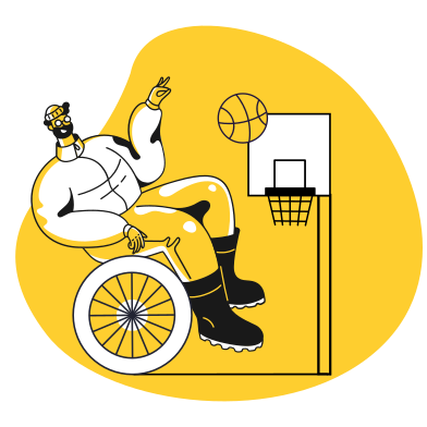 style Paralympics images in PNG and SVG | Icons8 Illustrations