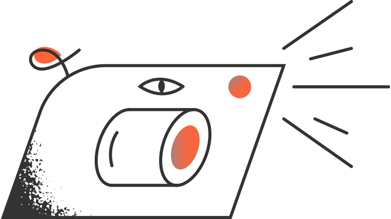 camera with flash Clipart illustration in PNG, SVG