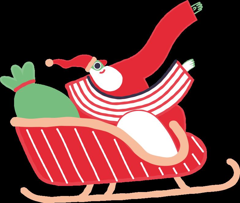 santafly Clipart illustration in PNG, SVG