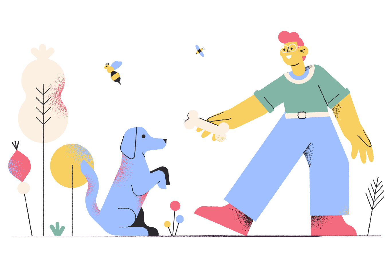 Dog food Clipart illustration in PNG, SVG