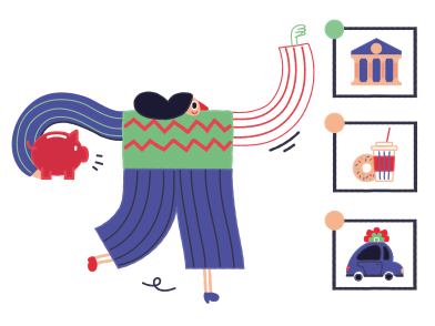 style Financial independence images in PNG and SVG | Icons8 Illustrations