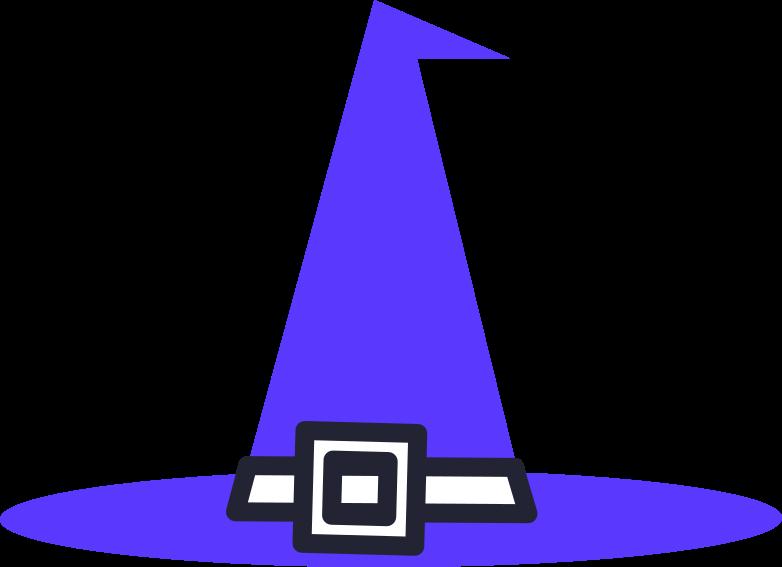 halloween preparation  witch hat Clipart-Grafik als PNG, SVG
