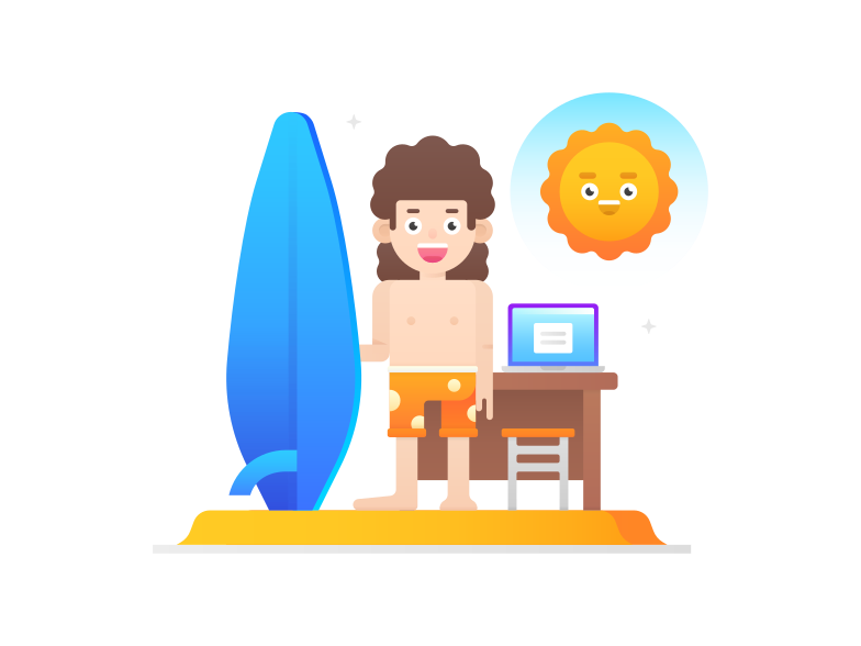 style Working remotely Vector images in PNG and SVG | Icons8 Illustrations