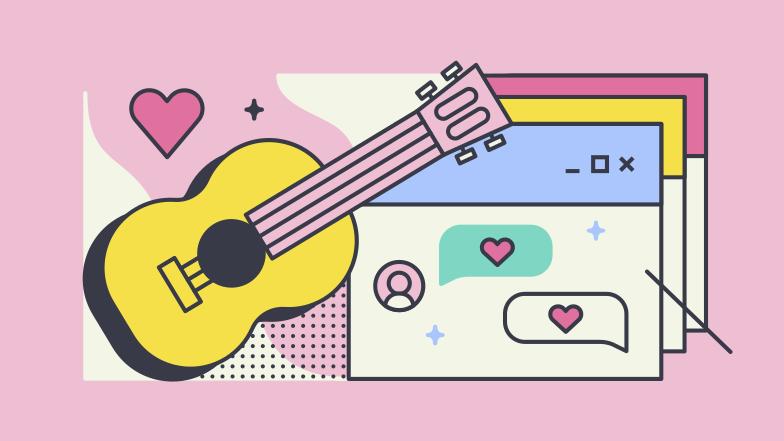 PNGとSVGの  スタイルの ロマンチックな関係 ベクターイメージ | Icons8 イラスト