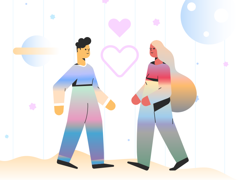 style Cosmic love Vector images in PNG and SVG | Icons8 Illustrations