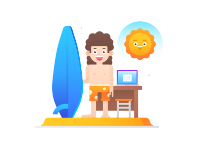 style Working remotely images in PNG and SVG | Icons8 Illustrations