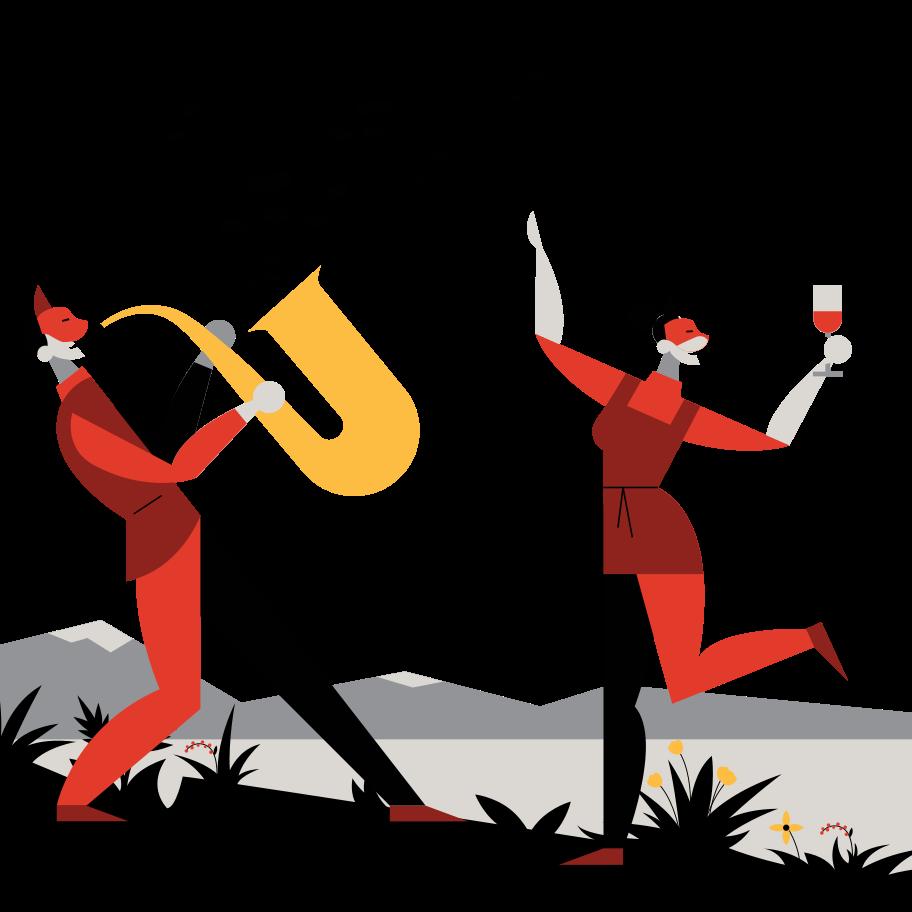 Imágenes vectoriales Festival de música al aire libre en PNG y SVG estilo  | Ilustraciones Icons8