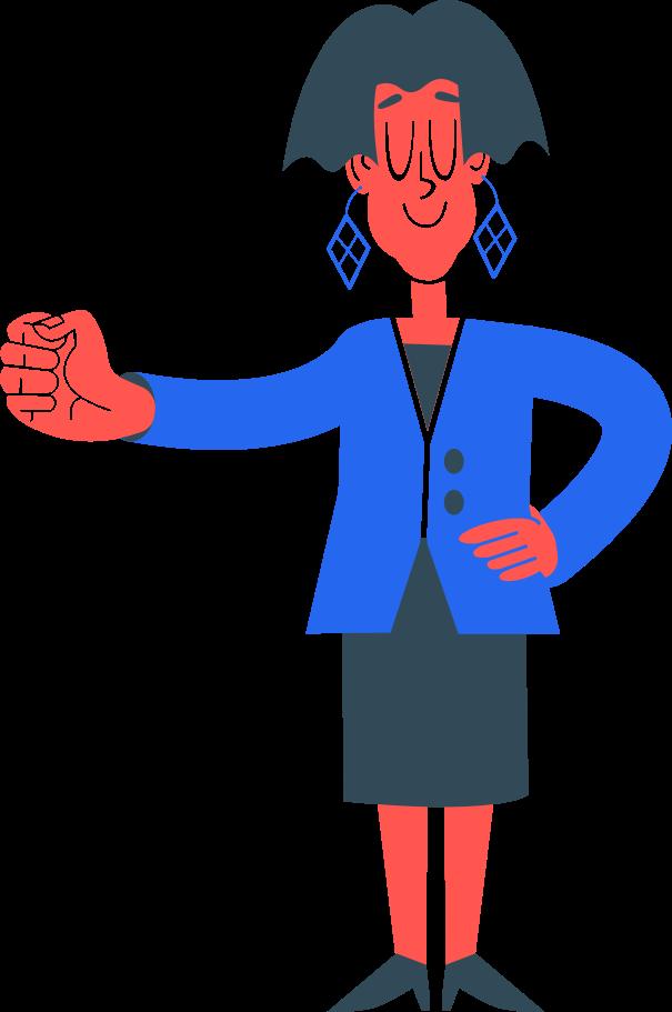 teacher Clipart illustration in PNG, SVG