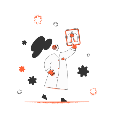 style Doctor and viruses images in PNG and SVG | Icons8 Illustrations