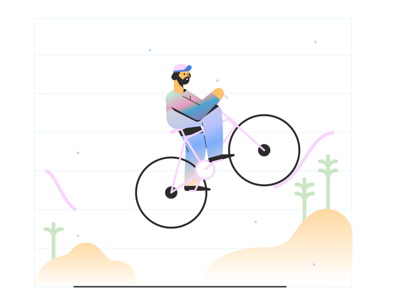 style Cycling Vector images in PNG and SVG | Icons8 Illustrations