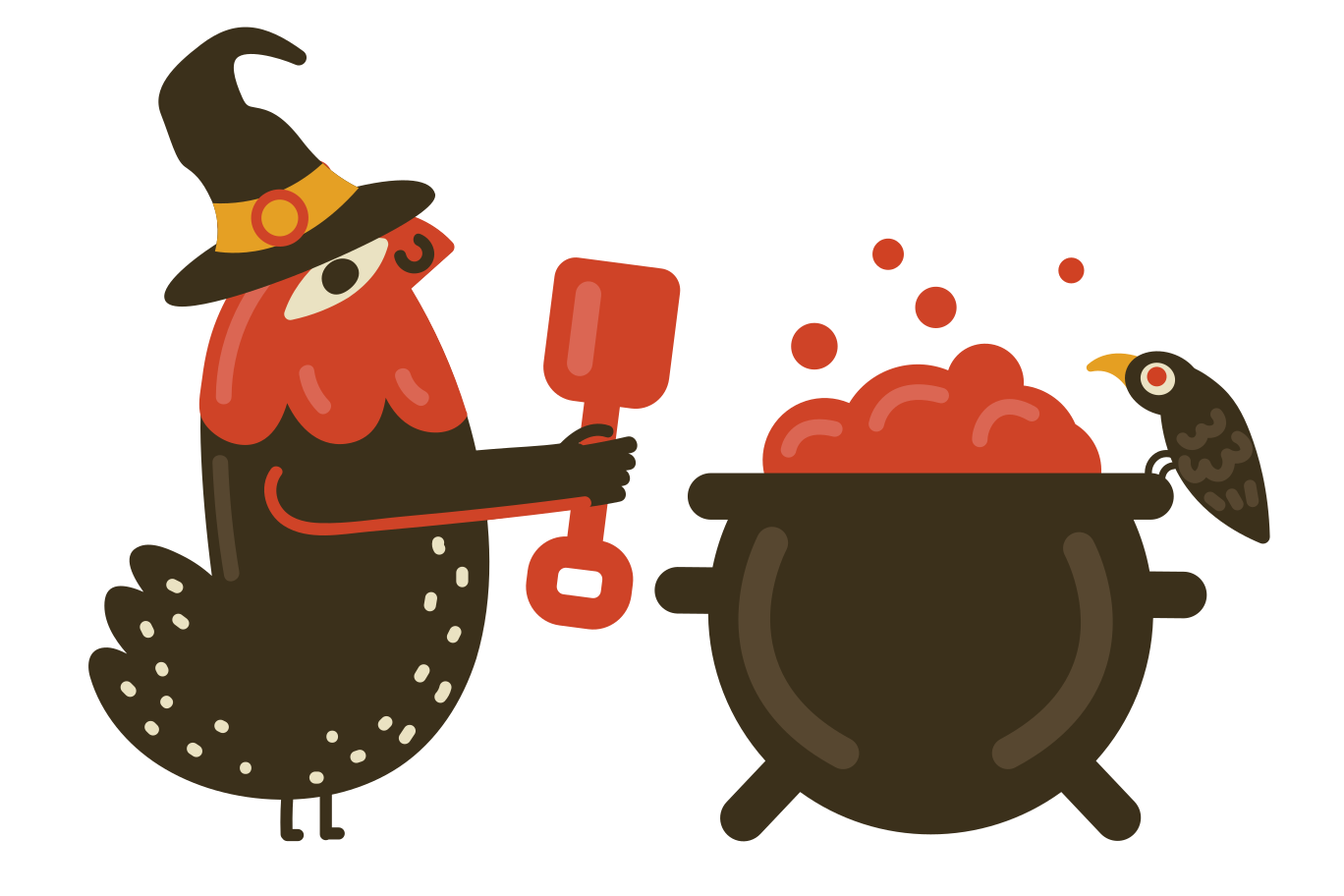 style Cooking something magical Vector images in PNG and SVG | Icons8 Illustrations