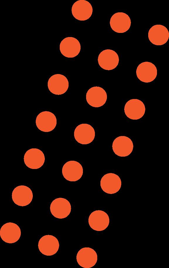Ilustración de clipart de Puntos rojos en PNG, SVG