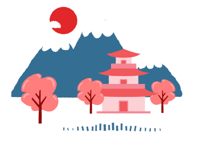 style Japanese landscape images in PNG and SVG | Icons8 Illustrations