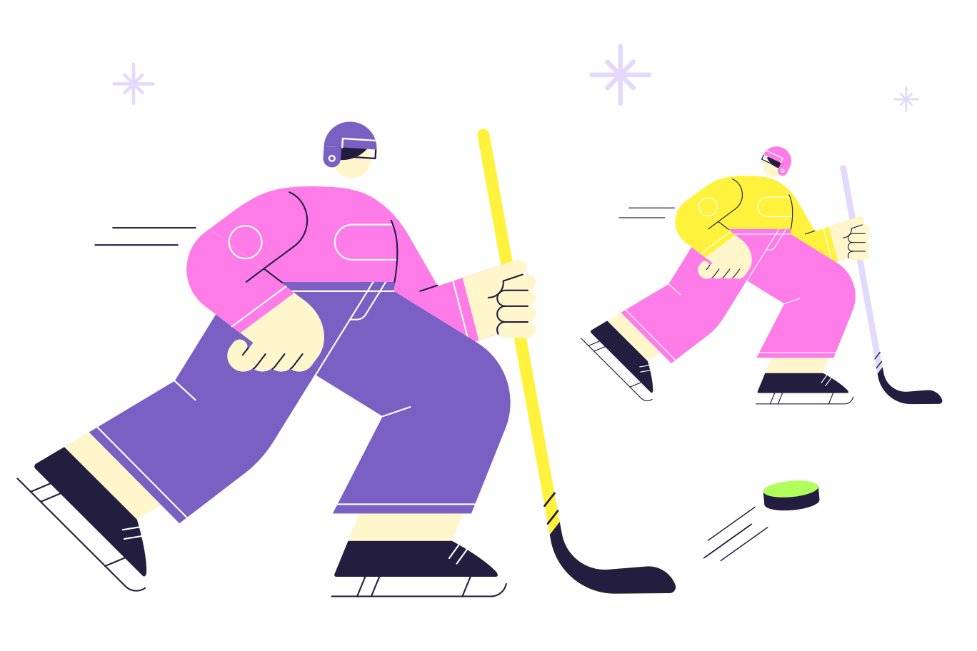 Friendly match Clipart illustration in PNG, SVG