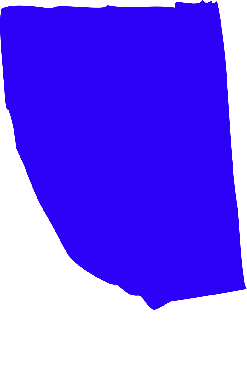 blue rectangle Clipart illustration in PNG, SVG
