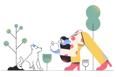 style Feeding dog images in PNG and SVG | Icons8 Illustrations