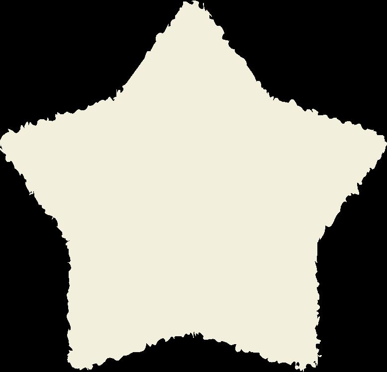 Stern beige Clipart-Grafik als PNG, SVG