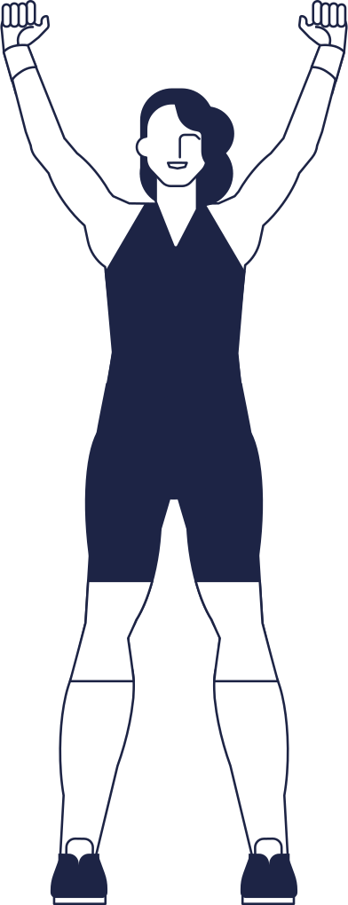 style athlete woman line images in PNG and SVG   Icons8 Illustrations