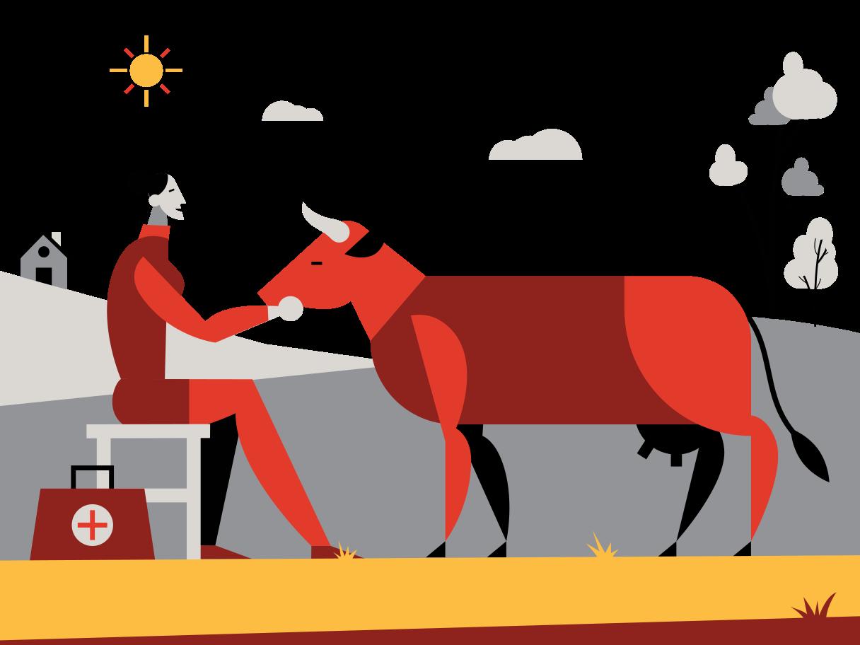 Veterinarian Clipart illustration in PNG, SVG