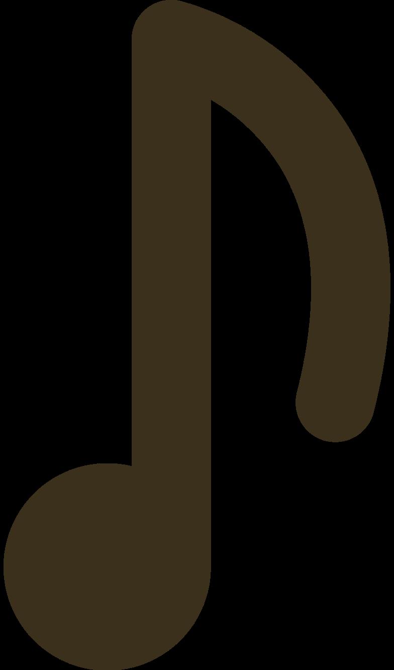 Illustration clipart music note aux formats PNG, SVG