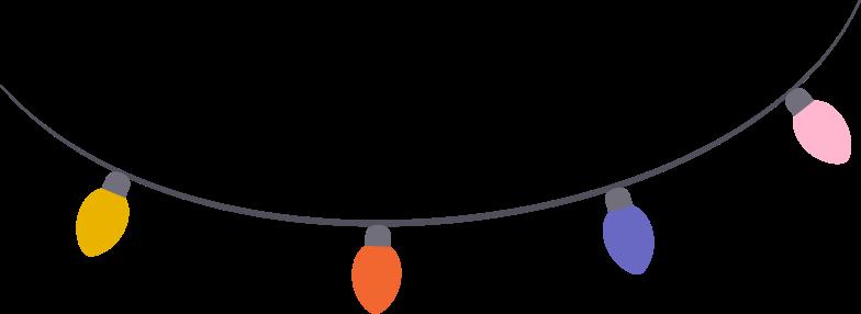 garland Clipart illustration in PNG, SVG